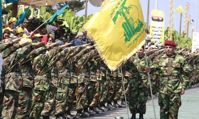 Hezb militants banner 23423