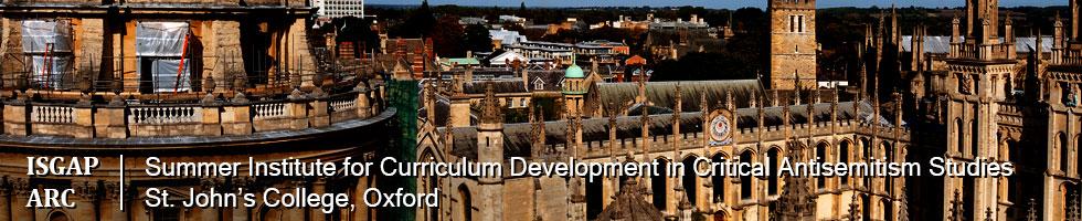 Summer Institute for Curriculum Development in Critical Antisemitism Studies